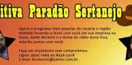 Comitiva Paradão Sertanejo sucesso para o seu negócio!