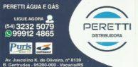Peretti água e gás Copagaz.